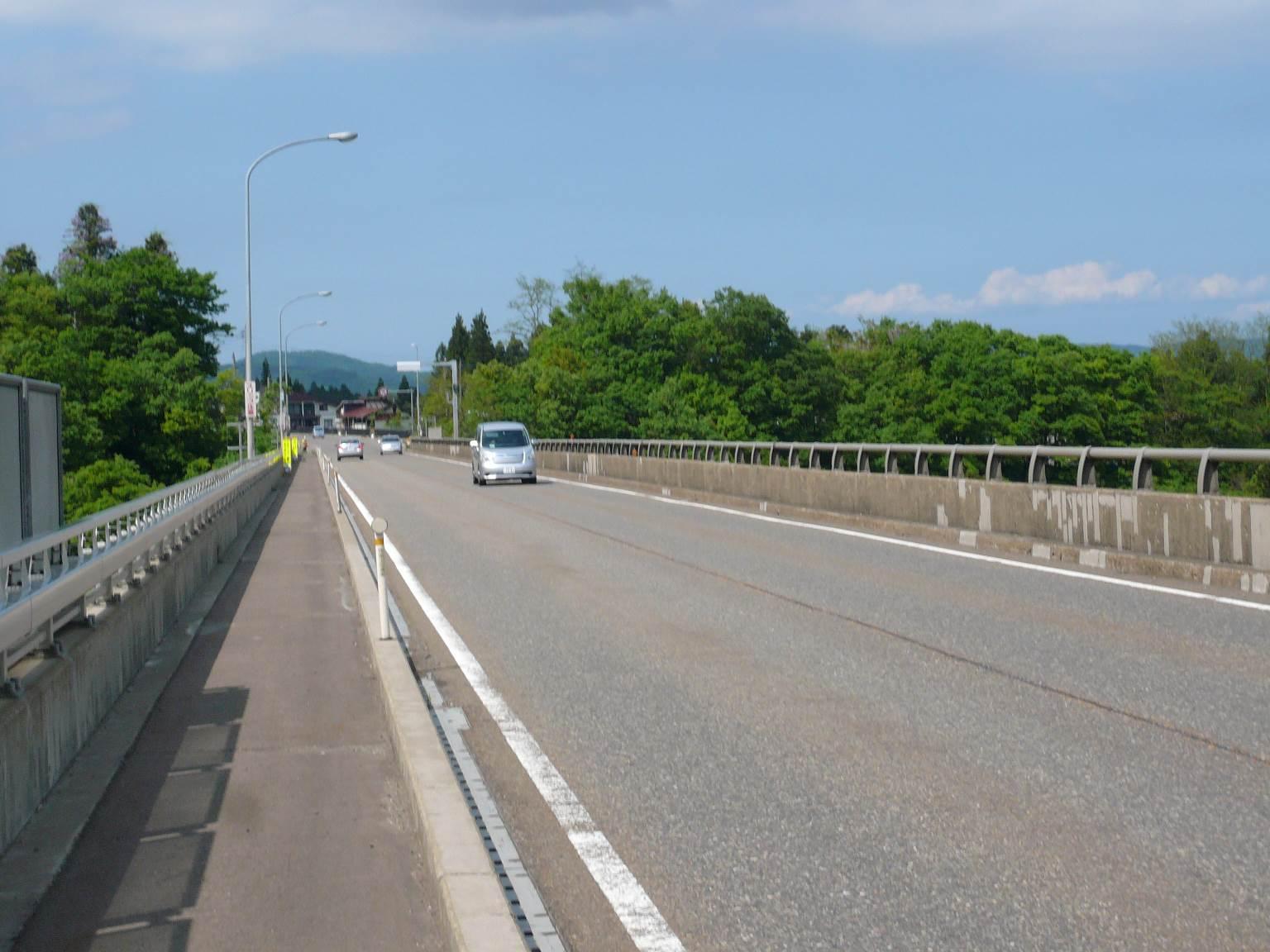 国道18号線妙高大橋(長野県側から)